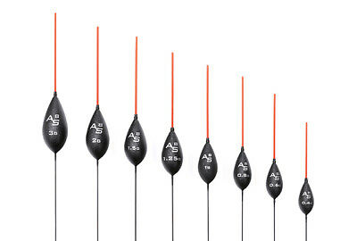 Drennan AS8 Pole Floats with 4 Interchangeable Tips