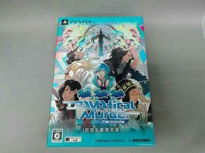 PSVita DRAMAtical Murder re:code Limited Edition Playstation vita from Japan F/S