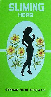 GERMAN HERB SLIMMING TEABAGS GREEN TEA diet weight reduction CHOOSE QUANTITY