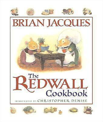 The Redwall Cookbook by Brian Jacques (English) Paperback Book