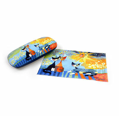 """Rosina Wachtmeister """"La Dolce Vita"""" Glasses Case with Lens Cloth"""