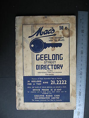 Mac's Geelong Street Directory  11th Edition