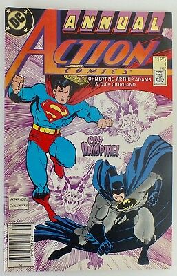 Superman in Action Comics - Issue # 1 - 1987 Annual - DC Comics - NM/VF (156)