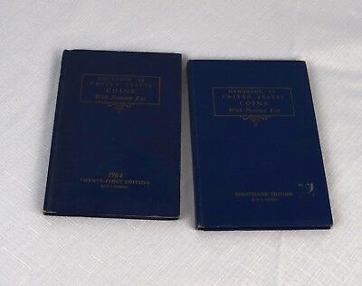 Lot of 2 Guide Book of United States Coins Blue Book R S Yeoman
