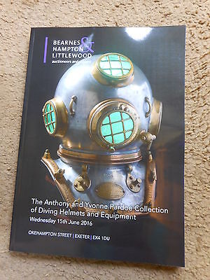 A & Y Pardoe Diving Helmets and Equipment Brand new Auction catalogue - Bearnes