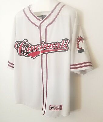Cincinnati Reds MLB Cool Base Authentic Jersey  XL by Majestic sewn colosseum