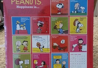 New Peanuts Snoopy 2006 Calendar with 60 Stickers Included