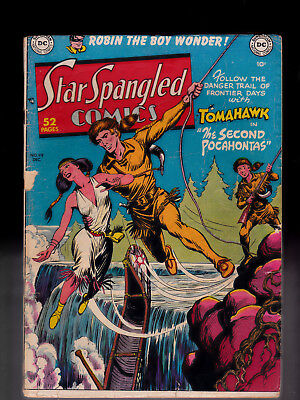 Star Spangled Comics 99 Robin the Boy Wonder Tomahawk   Rough spine
