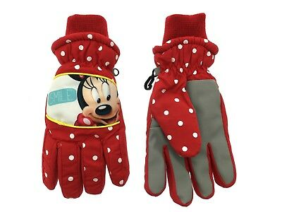 Minnie Mouse Gloves Mittens 6-12 Months In Red Bn Clothing, Shoes & Accessories