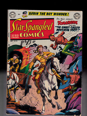 Star Spangled Comics 108 Robin the Boy Wonder Tomahawk  small chip of spine