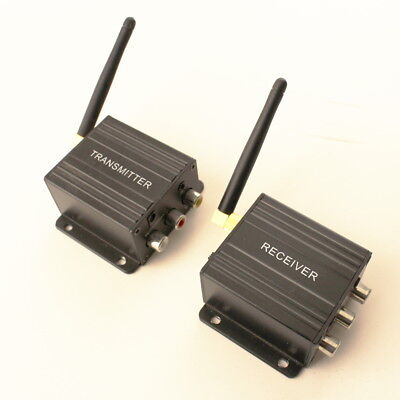 Pro-signal 4-Channel Wireless Video Sender, Transmitter, Receiver- PSG08096