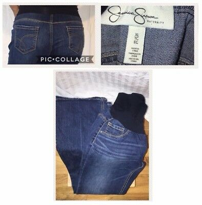 Jessica Simpson Bootcut Secret Fit Maternity Jeans, XL