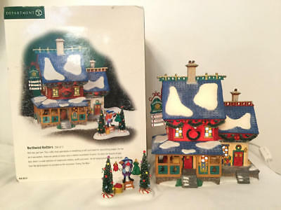 Dept 56 North Pole Series Northwind Knitters