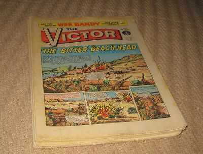 Lot of 11 x Vintage Issues of VICTOR Comic 1972 & 1973