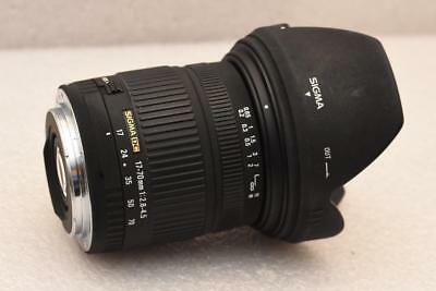 Canon fit 17-70mm F2.8-4 Sigma DC Zoom Lens AF fast aperture GOOD CONDITION