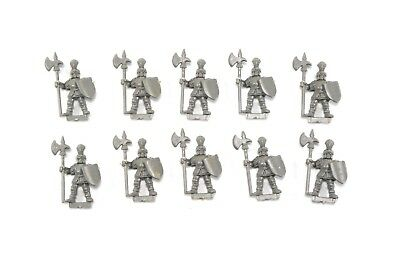 Battle Masters IMPERIAL MEN AT ARMS Empire State Troops x 10 Warhammer 1992 WFB