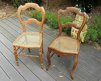 Chaises anciennes Louis Philippe_déco campagne chic_shabby chic