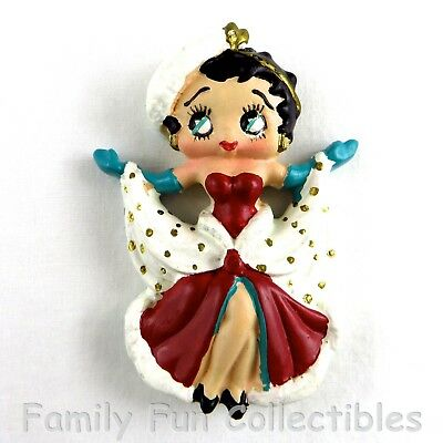 BETTY BOOP~1990s Vandor~Figural Magnet~Holiday Set~Dress Doll Figure~NEW NOS