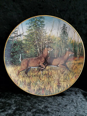 Friends of the Forrest Plate Collection, Danbury Mint - Indian Summer Flight