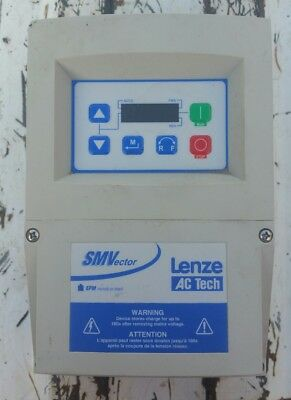 LENZE AC Tech Variable Frequency Speed Drive ESV371N01SXC power cord