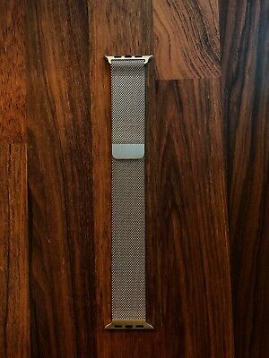 Apple Watch 42mm Silver Milanese Strap - GREAT CONDITION - RRP £149