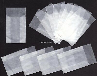 Lindner Protective GLASSINE ENVELOPES 45 x 60mm  - Brand New - FREEPOST Ref:700