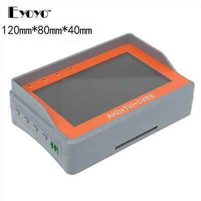 "Eyoyo 3-In-1 4.3"" LCD HD-AHD/TVI CVBS CCTV Camera Test Monitor Tester Monitor"