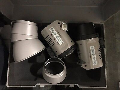 Elinchrom Dual Style 600s Studio Kit w/ Hard Case