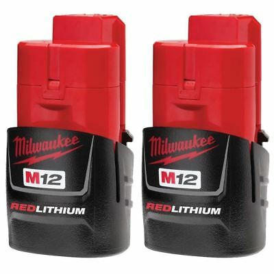 Milwakee M12 REDLITHIUM Compact Battery Two Pack 48-11-2411