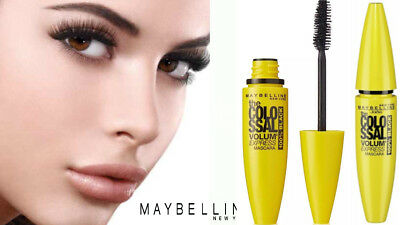 Maybelline The Colossal  Volume Express Mascara 100% Black New And Sealed