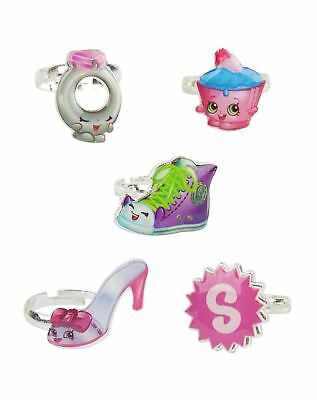 Shopkins Ring Set Series 3