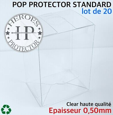 "Protection Vinyl 6/"" Vinyl Box Case LOT DE 5 OVERSIZED FUNKO POP PROTECTOR"