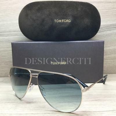7c133c464d Tom Ford Erin TF466 466 Sunglasses Matte Gold Black 29P Authentic 61mm