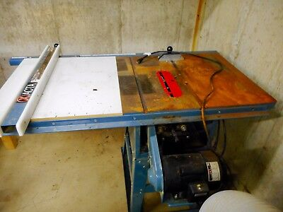 """JET 10"""" Table Saw With Xacta Fence"""