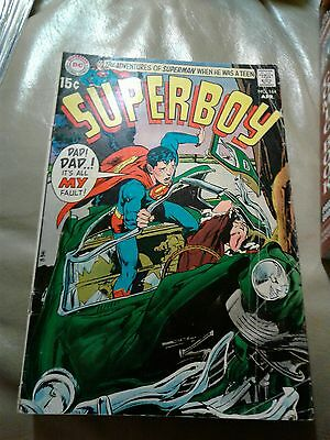 DC Comics SUPERBOY #164 VF, Neal Adams cover, Mike Esposito art 1970 DC