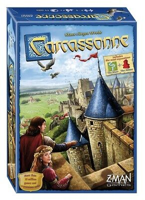 Carcassonne Revised Edition Board Game - Brand New Sealed FREE 1st CLASS SHIP