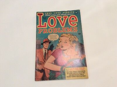 Love Problems- Vol.1 No.15 May 1952- By Harvey Publications- Signed Lee Elias