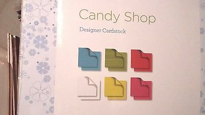 Creative Memories 12  x 12 Paper Candy Shop Designer Cardstock 18 Pages 2013