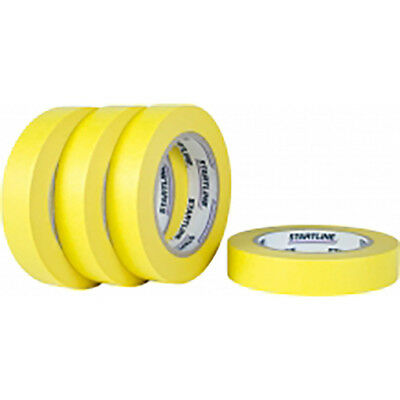 Yellow Masking Tape 48mm High Temperature Refinishing 20 Roll