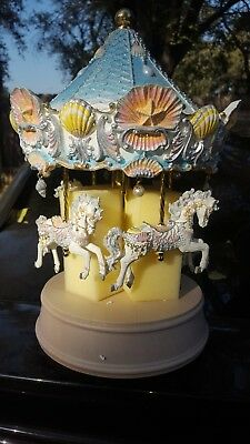 san francisco music box new in box , wind beneath my wings carousel