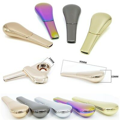 New Portable Magnetic Metal Tobacco Spoon Smoking Pipe Accessories With Gift Box