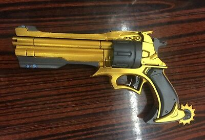 Overwatch OW Jesse Mccree Gun Weapon Replica1:1 Scale Cosplay Prop Handgun