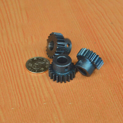 0.5Mod 40T Spur Gear 45# Steel Pinion Gear Bore 6mm With Set Screws x 1PCS