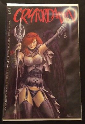 Cry For Dawn #3 (Fall 1990) FN Joseph Michael Lisner JML CFD