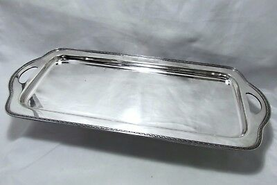 """1921 Vintage Deco Paisley Wilcox Sp Co. Lg Serving Cocktail Drinks Tray 24 1/2"""""""
