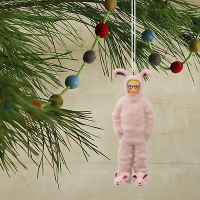 Hallmark A Christmas Story Christmas Ornament Ralphie In Bunny Suit Decorations