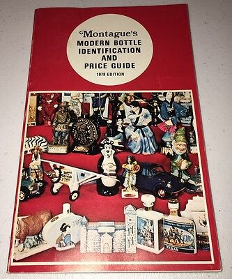 Montague's Modern Bottle Identification and Price Guide 1978 Paperback