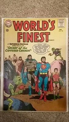 World's Finest Comics #138 (1963) Silver Age!  Batman/Superman!  PRICED TO Sell!