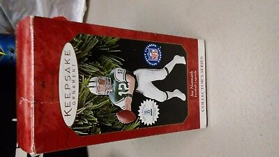 Hallmark Keepsake Ornament ~ Joe Namath ~ Football Legends Series. 1997