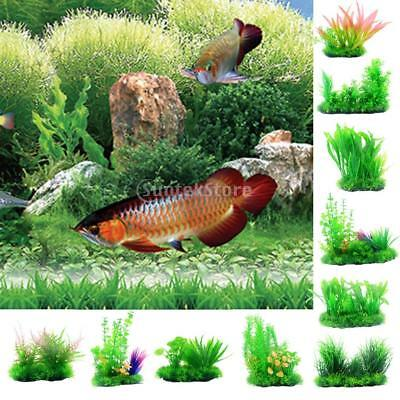 Grass Aquarium Decor Water Weed Ornament Plant Fish Tank Decor Green Plastic